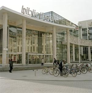 Bibliotheekgebouw in Gent.